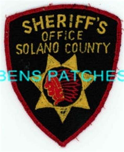 Solano County Sheriff S Office by Ben S Patch Collection