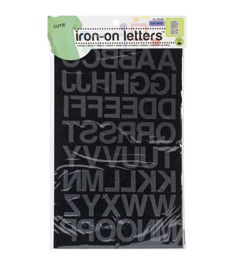 dritz iron on printable fabric dritz iron on letters 1 block jo ann