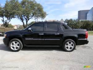 black 2012 chevrolet avalanche ltz exterior photo