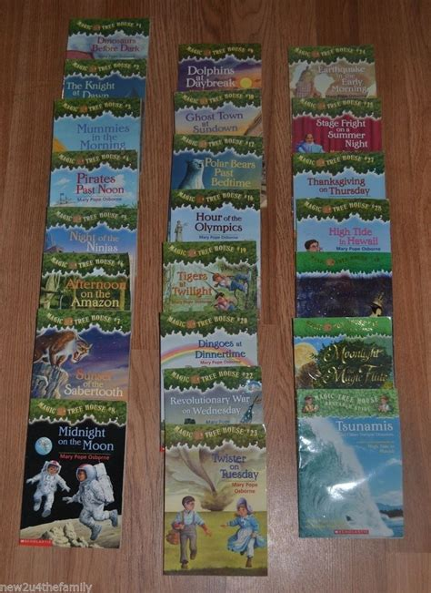 newest magic tree house book magic tree house chapter books huge lot of 23 boys