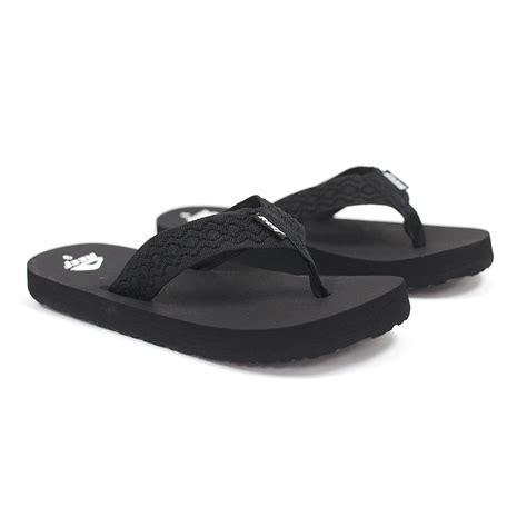 black reef sandals reef smoothy black s sandals ebay