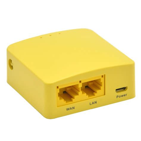 Router Gl Inet gl inet openwrt mini smart router ddri 64mb gl mt300n yellow jakartanotebook