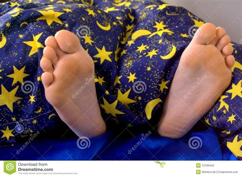 feet in bed feet in bed stock photography image 15199442