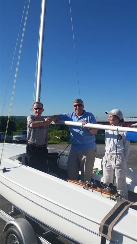 Giveaway Winner Picker - 2015 flying scot raffle winners pick up their boat flying scot sailing association