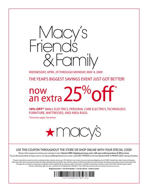 Can I Use Macy S Gift Card Online - macy s online coupons and codes printable coupons online