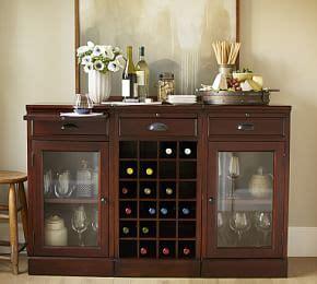 pottery barn liquor cabinet build your own modular bar cabinets pottery barn