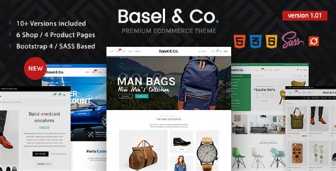 Basel Ecommerce Bootstrap 4 Html Template Download Basel Ecommerce Bootstrap 4 Html Bootstrap 4 Ecommerce Template