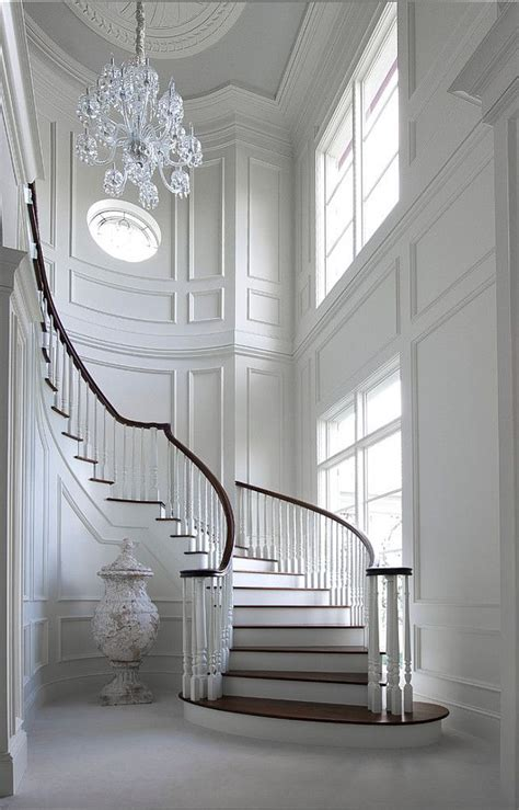 foyer interior 25 best ideas about curved staircase on pinterest grand