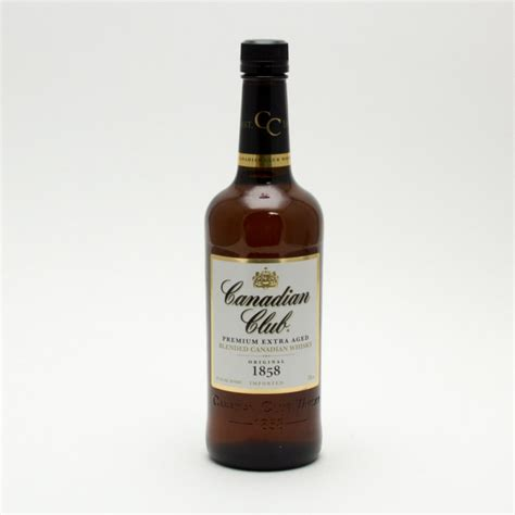 blended canadian whiskey canadian club blended canadian 750ml