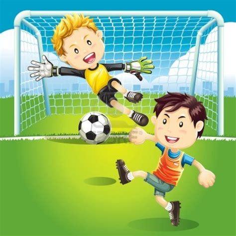 imagenes de niños jugando futbol en caricatura ni 241 os y ni 241 as jugando futbol animados imagui