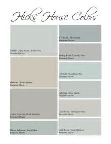 color palette for home whole house painting hicks house