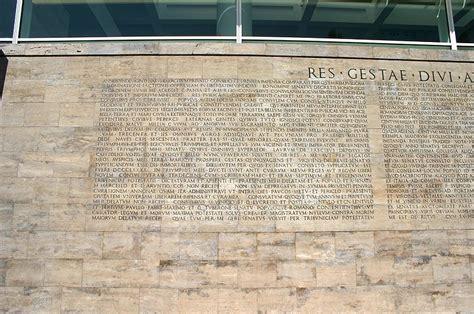 testo roma roma roma קובץ 8162 roma testo monumentum ancyranum presso ara