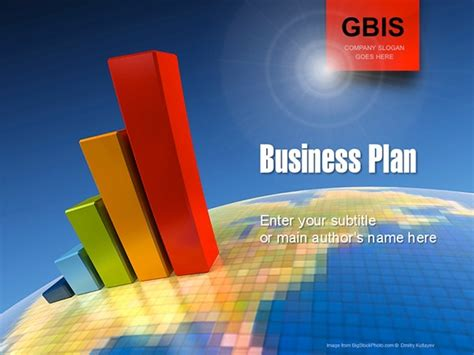 business plan powerpoint templates business plan powerpoint template on behance