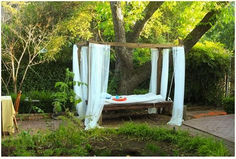 outdoor bed 1000 ideas about outdoor swing beds on