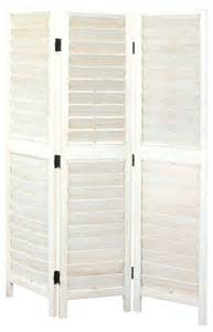 Venetian Room Divider Wayborn Venetian Room Divider Whitewash Farmhouse Screens And Room Dividers By Cymax