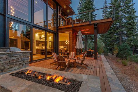 Contemporary Mountain Cabin Modern Mountain Cabin