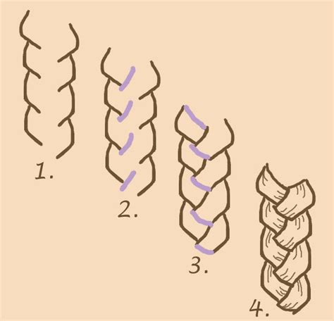 how to do doodle braids 25 beautiful braid drawing ideas on how to