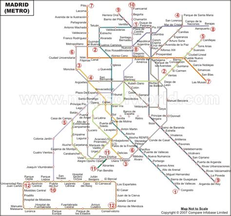 madrid metro map calendar madrid metro map