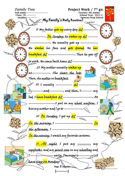printable family tree esl family tree worksheet free esl printable worksheets made