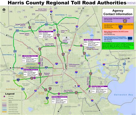 harris county map texas map of harris county texas houston area toll roads free for qualifying disabled or decorated