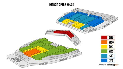 detroit opera house seating map detroit opera house seating pictures house and home design