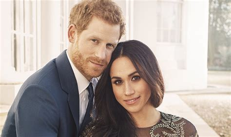 meghan harry prince harry and meghan markle release engagement photos