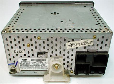 ford explorer factory amfm radio cassette tape