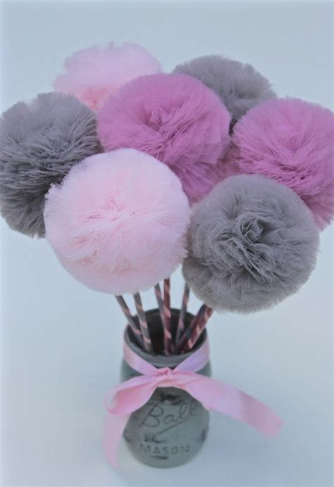 17 best ideas about pom pom centerpieces on