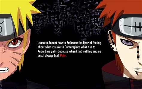 anime quotes about pain naruto pain quotes quotesgram