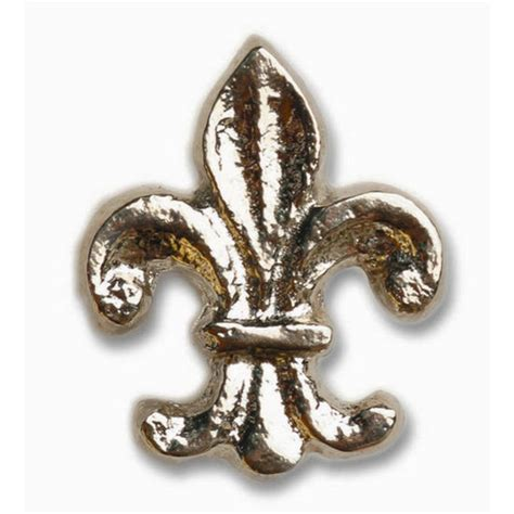 Whimsical Door Knobs by Whimsical Collection Fleur Di Lis Cabinet Knob 1 3 4