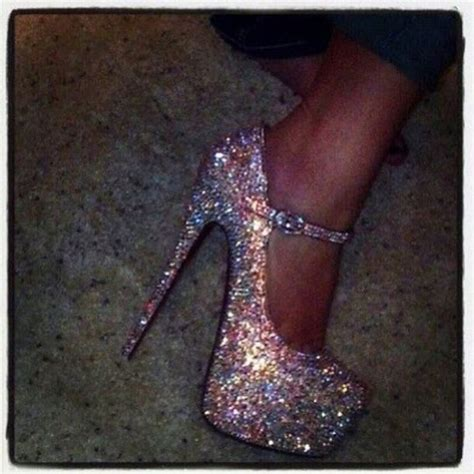shoes glitter shoes glitter heel shoes multicoloured