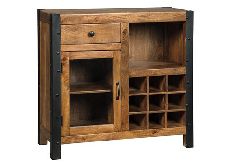 dining room wine cabinet alabama furniture market glosco brown wine cabinet