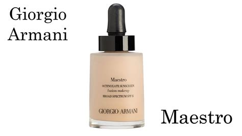 Harga Giorgio Armani Maestro Foundation giorgio armani maestro foundation review and application