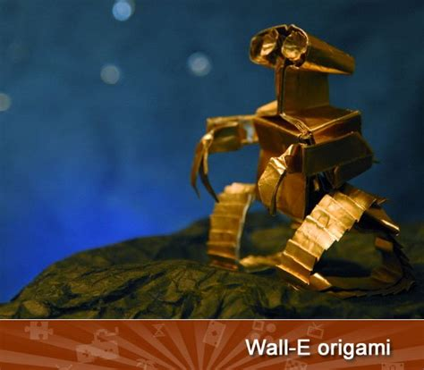 origami wall e whatsnew