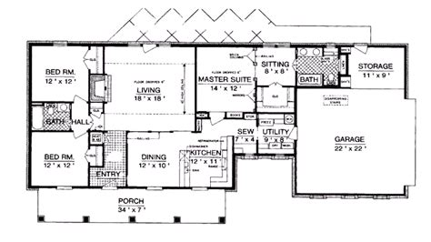 ranch style floor plans with basement decor amazing architecture ranch house plans with basement