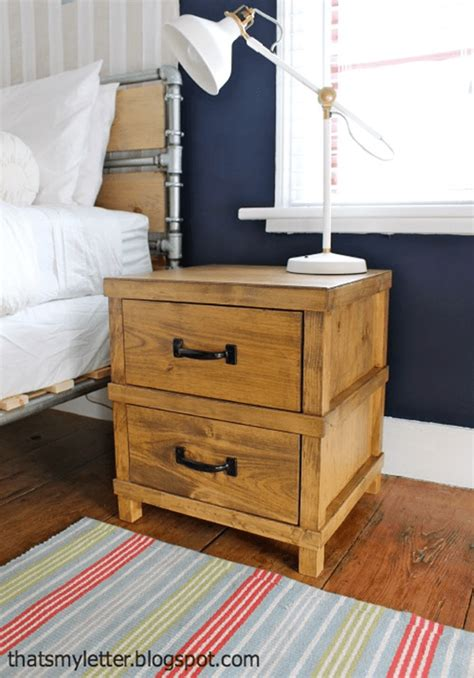 Bunk Bed Nightstand Free Nightstand Plans For Your Bedroom