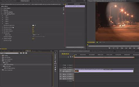 adobe premiere pro lighting effects 30 video tutorials for learning to use adobe premiere