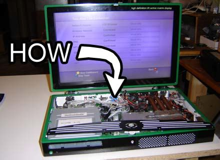 how to make a game mod for pc how to make an xbox 360 laptop part 1