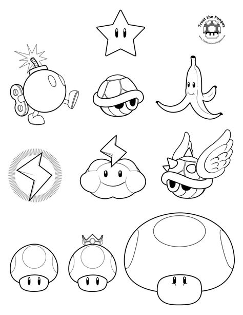 mario kart coloring pages coloring pages to print