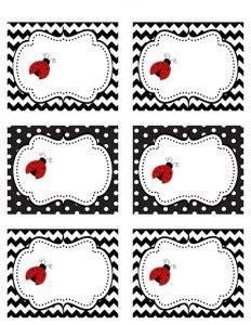 free printable ladybug name tags preschool name tag crafts and worksheets for preschool