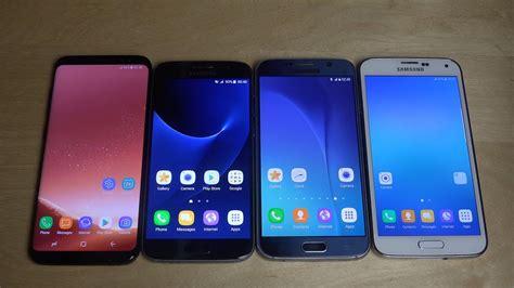Samsung Galaxy S8 Dan S5 samsung galaxy s8 vs samsung galaxy s7 vs samsung galaxy s6 vs samsung galaxy s5 speed test