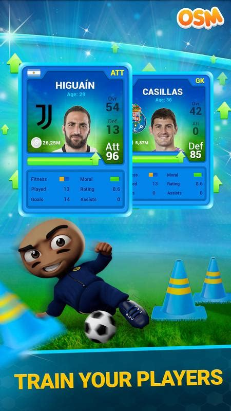 soccer manager osm apk free sports