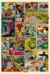 comic wall mural comic book bedroom wallpaper home decorating ideas