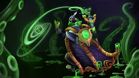 dota 2 wallpaper hd green dota 2 rubik spray with green liquid from tubes on the