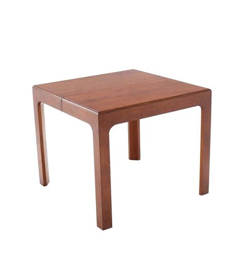 henredon dining table henredon square dining table with one extension board for