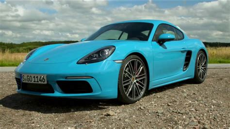 miami blue porsche 718 2017 new porsche 718 cayman s miami blue exterior