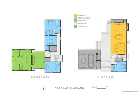 floor plan diagrams zagu 225 n house murphy mears architects