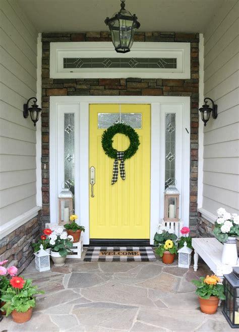 paint  front door tips steps  design twins