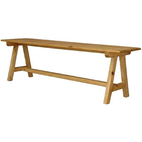 pine bench rustic pine collection pueblo bench ban04
