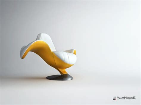 banana armchair the playful banana chair by wamhouse